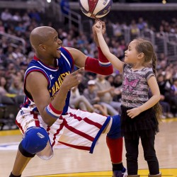 BDN contest introduces youngsters to the Harlem Globetrotters