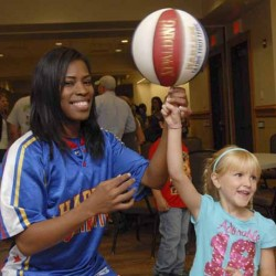 Globetrotters entertain local basketball fans