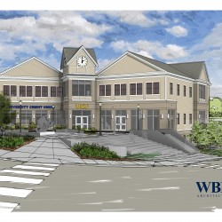 Rendering of UCU's new headquarters in downtown Orono. Photo and rendering courtesy of WBRC Architects ∙ Engineers