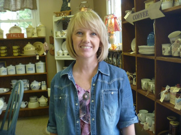 Sherelle McIntyre, owner of Fine and Dandelion in Carmel, opened the shop on July 6. The shop offers vintage, antique and decorative items.