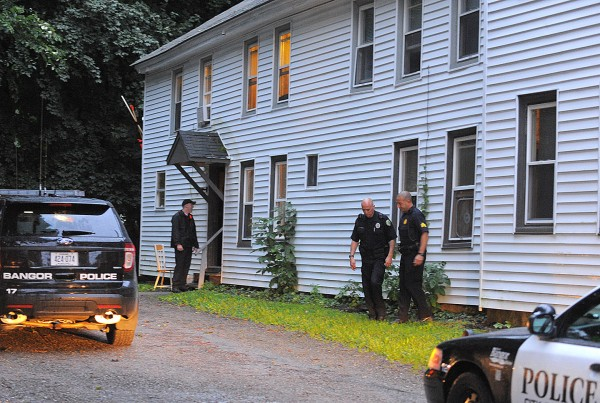 Police are investigating a stabbing that happened at 209 Pine St. in Bangor Monday afternoon.