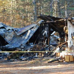 Fire destroys third home since August in Livermore Falls mobile home park