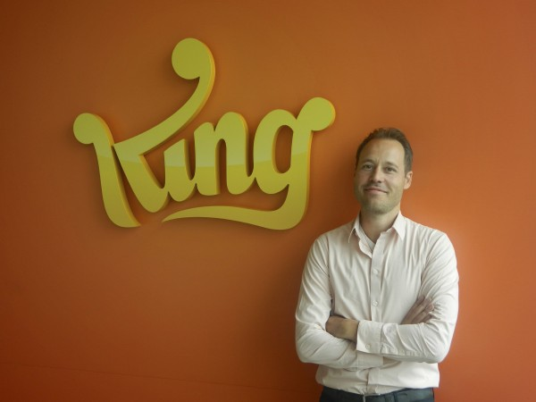 Co-founder and Chief Creative Officer of King.com Sebastian Knutsson pose for media in this undated handout photograph taken and released by King.com in Stockholm. With 100 million people logging on every day for a fix of its games like Candy Crush Saga, global gamemaker King is showing rivals not just how to hook players, but how to get them to pay.