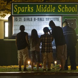 Three hunters questioned in shootings at Texas school