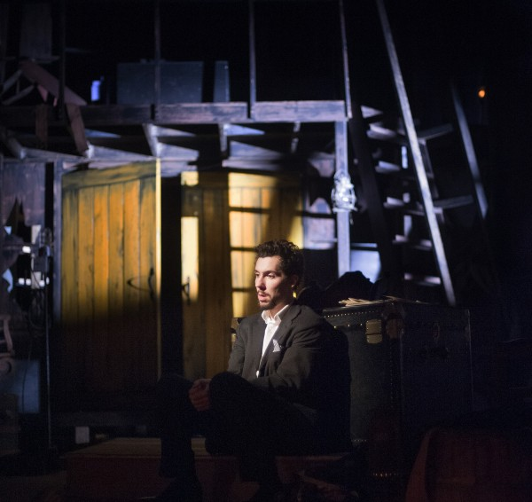 Brad LaBree in Penobscot Theatre Company's 2013 production of &quotThe Woman in Black,&quot which runs through Nov. 3.