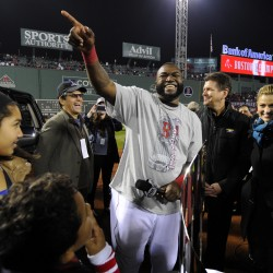 Red Sox' Ortiz a chart topper in World Series