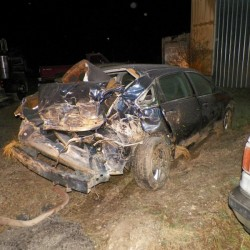 Two injured in Route 2 crash in Aroostook County