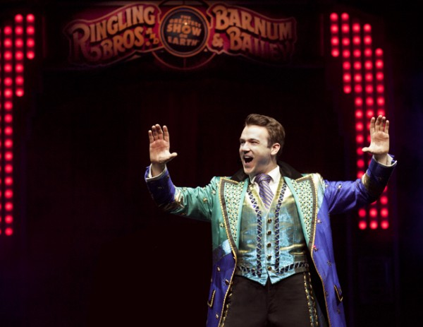 Ringmaster David Shipman performs with the Ringling Bros. and Barnum and Bailey Circus. The Cross Insurance Center announced on Monday that Ringling Bros. will bring their