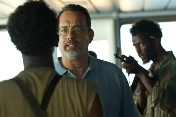Tom Hanks, center, stars in Columbia Pictures' &quotCaptain Phillips.&quot