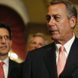 Shutdown, debt fight highlight Republican distance from 'big business'