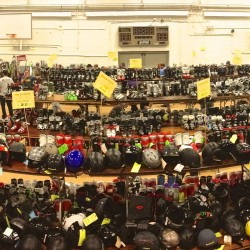 Thousands of pieces of ski gear are organized in the Bangor Parks and Recreation for the 2012 Penobscot Valley Ski Club Ski Sale. A similar selection of new and used ski and snowboard gear will make up the 2013 sale, scheduled for Oct. 19.
