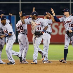 Tigers' Verlander shuts down A's as Detroit advances to ALCS vs. Red Sox