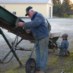 By machine or by hand, it's potato harvest time in Aroostook County