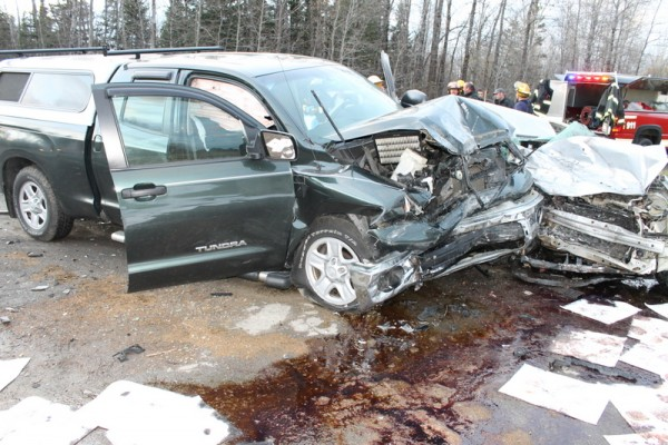 Abigail Ladner, 19, of Fort Fairfield is in critical condition late Monday morning at Eastern Maine Medical Center in Bangor following a late afternoon head-on collision Sunday on U.S. Route 1A. Police responded to the collision between Ladner's 2004 Honda and the 2008 Toyota pickup driven by Barry Belyea, 67, of Portland at about 4:25 p.m.