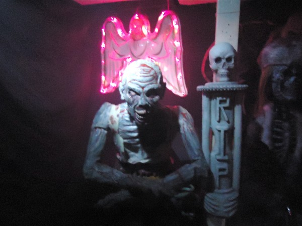 The undead in Jeremy McGrath's Saco basement.