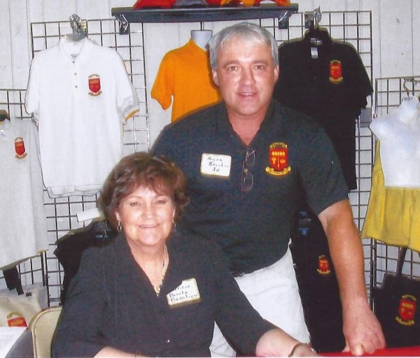 Patricia Boucher and Roger Beaulieu Jr., owners of Madtown Clothing in Madawaska.