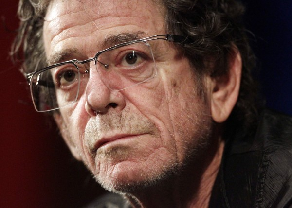 U.S. singer Lou Reed looks on during a Q&A session after the world premiere of his first film &quotRed Shirley&quot at the Vision du Reel Documentary film Festival in Nyon in this April 20, 2010 file photo.  Reed, 71, died Oct. 27, 2013, according to Rolling Stone Magazine.