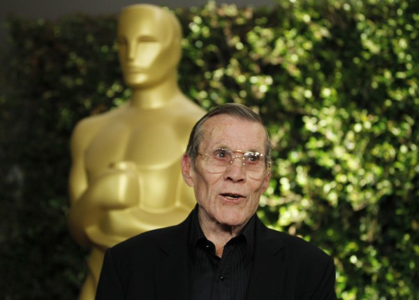 Honorary Oscar recipient, veteran stunt performer and director Hal Needham arrives at the Academy of Motion Picture Arts and Sciences 4th annual Governors Awards in Hollywood on Dec. 1, 2012.