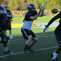 Wasilewski, Ebeling vying for UMaine starting quarterback job