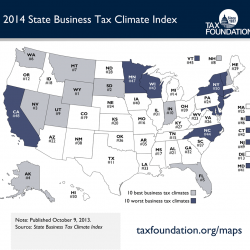 Maine moves up in national business tax climate survey