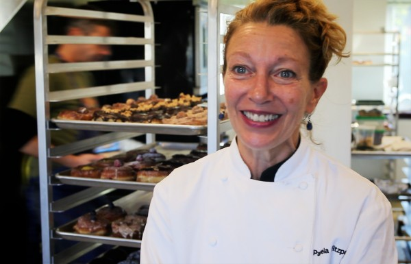 Pamela Fitzpatrick Plunkett opened Little Bigs bakery in South Portland this summer with her husband James Murray Plunkett. The couple moved to Maine from Chicago.