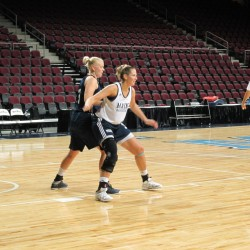 Coach taking pointed but patient approach to teaching UMaine women's basketball team