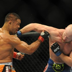 Lincolnville's Boetsch scores split-decision mixed martial arts victory at UFC 166