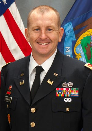 Maj. Michael Steinbuchel, Maine Army National Guard