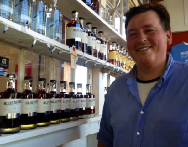 Luke Davidson of Maine Craft Distillery makes spirits from local products in Portland.