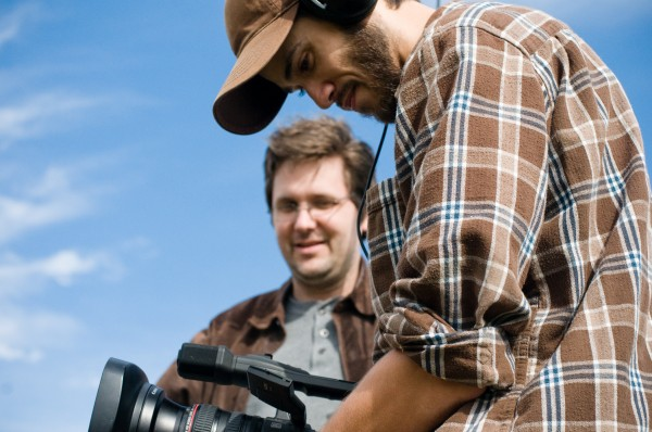 Barry Dodd shoots a scene for his web series, &quotRagged Isle,&quot made entirely in Maine.