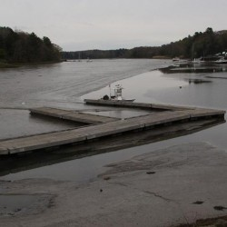 Yarmouth dam opened for inspection