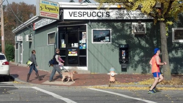 Vespucci's, at 211 Danforth St. in Portland's West End, could become the site of a 45-seat restaurant next year.