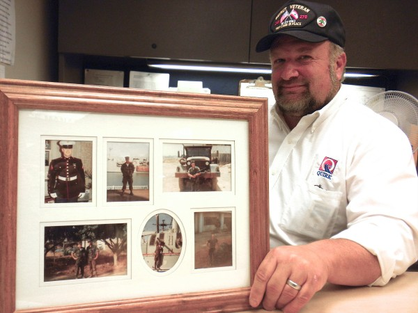 Mark Nevells, a service manager at Quirk Subaru in Bangor, was a lance corporal with the 24th Marine Amphibious Unit's service support group and was stationed in Lebanon during the 1983 Beirut bombings.