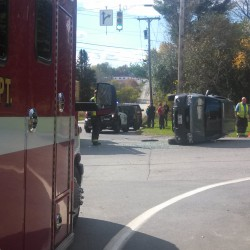 High speed chase ends in Bangor crash, arrest