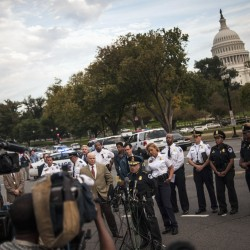 Police shot, killed mother outside US Capitol, says police chief
