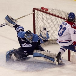 Black Bears eager to reverse home-ice woes of last year, host Bentley on Saturday night