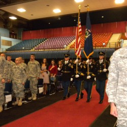 488th Military Police Company out of Maine returns stateside from Afghanistan