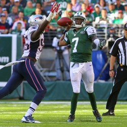 Pats' rookie takes blame in loss to Jets