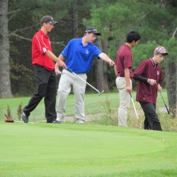 Gorham, York, St. Dominic win high school golf state titles