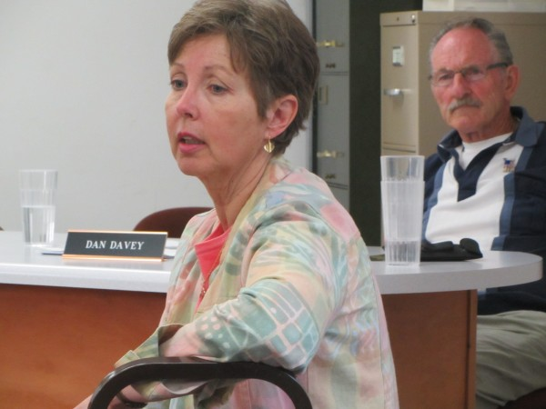 Maine Department of Environmental Protection Commissioner Patricia Aho in this 2012 file photo. On Tuesday, she presented Presque Isle and Fort Fairfield with checks for the communities owed money for landfill remediation and closure costs.