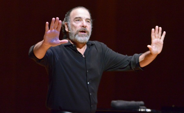 &quotHomeland&quot actor Mandy Patinkin, comes to Portland on Friday for a show at Merrill Auditorium. The CIA agent has a smashing solo singer career.