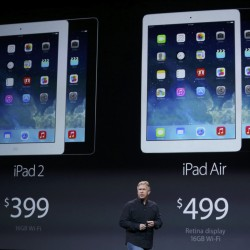 Apple describes post-PC era, surprise of success in new iPad announcement