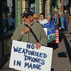 Maine Walk for Peace and A Sustainable Future Underway