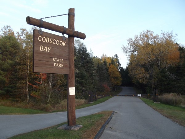 Cobscook Bay State Park, located within Moosehorn National Wildlife Refuge, was closed because of the federal government shutdown.