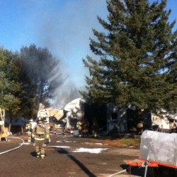 Hampden fire damages house on Route 1A