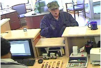 The FBI is seeking this suspect in a Cambridge, Mass., armed robbery.