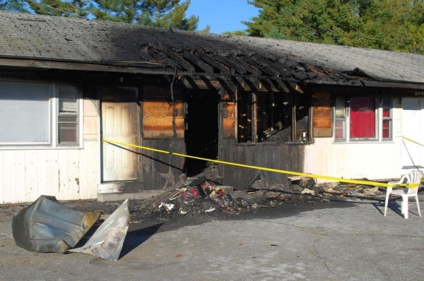 An accidental fire Tuesday, Oct. 8, destroyed one room at Itsa Good Motel, 341 U.S. Route 1, Scarborough, and closed the rest of the motel. Owner Ellen Ellsworth said she is uncertain if she can reopen because she does not have insurance.