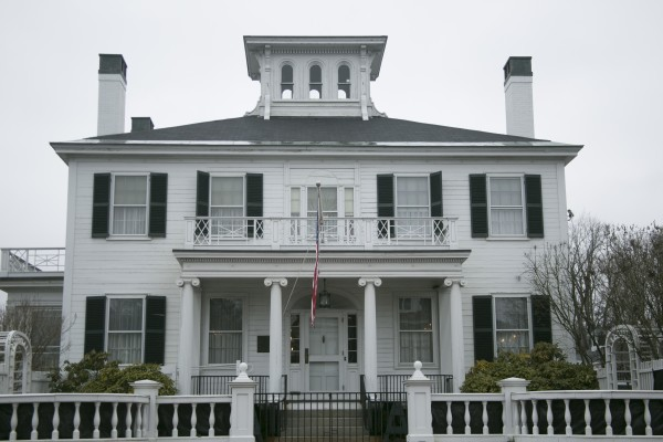The Blaine House in Augusta.