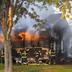 Family members seeking help for Bangor fire victims