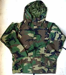 An Army extreme weather camouflage jacket like the one shown here was accidentally given away on Oct. 26 during a Coats for Kids and Families drive at the American Legion in Caribou. Legion Auxiliary members are asking the community's help in returning the jacket to its rightful owner.
